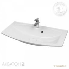 Раковина для мебели Акватон Милан М 950 (950х460 мм) белая 1A70653KML010