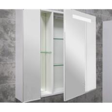 Зеркальный шкаф Акватон Марко 80 (737х750 мм) белый 1A181102MO010