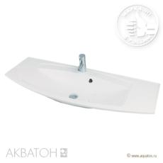 Раковина для мебели Акватон Милан 1200 (1200х460 мм) белая 1A704531ML010