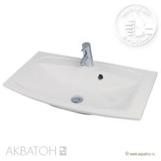 Раковина для мебели Акватон Милан 800 (800х460 мм) белая 1A704431ML010