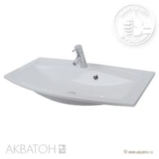 Раковина для мебели Акватон Милан 950 (950х460 мм) белая 1A704331ML010