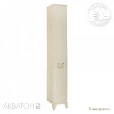 Шкаф-колонна Акватон Леон Н (312х1602мм) дуб бежевый 1A187903LBPR0