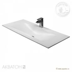 Раковина для мебели Акватон Блент Д 1000 (1000х450 мм) белая 1A708531BL010