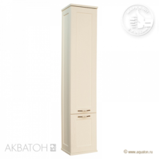 Шкаф-колонна Акватон Леон (312х1602мм) дуб бежевый 1A186503LBPR0