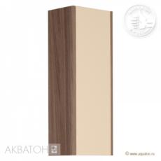 Шкаф одностворчатый Акватон ЙОРК (300х800) бежевый/джарра 1A171403YOAT0