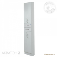 Шкаф-колонна Акватон Дионис двустворчатая (500х2020мм) белая 1A122103DS010