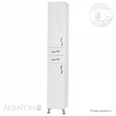 Шкаф-колонна Акватон Дионис левая (325х2020мм) белая 1A122203DS01L