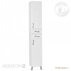 Шкаф-колонна Акватон Дионис правая (325х2020мм) белая 1A122203DS01R