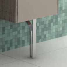Ножка для шкафа Акватон ФАБИА (220 мм) 1A161103FB000