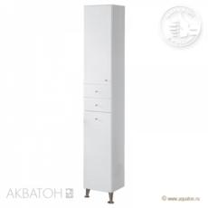 Шкаф-колонна Акватон Домус левая (325х2020мм) белая 1A122003DO01L