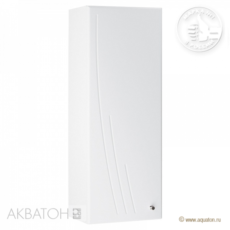 Шкаф одностворчатый  Акватон Минима левый (305х818мм) белый 1A001803MN01L