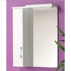 Зеркало-шкаф Онда 60 левое (586х798 мм) белое 1A009802ON01L