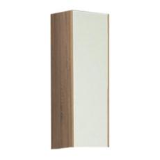 Шкаф одностворчатый Акватон ЙОРК (300х800мм) белый глянец/ дуб сонома 1A171403YOAD0