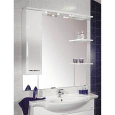 Зеркальный шкаф Акватон Эмили 105 правый (1050х1107мм) белый 1A008602EM01R