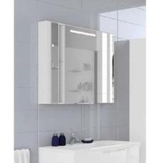 Зеркальный шкаф Акватон Марко 100 (1000х750 мм) белый 1A190402MO010