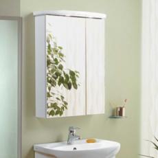 Зеркальный шкаф Акватон Норма 65 (650х854мм) белый 1A002102NO010