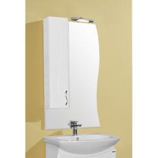 Зеркальный шкаф Акватон Дионис 67 левый (650х1080мм) белый 1A006002DS01L