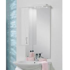 Зеркальный шкаф Акватон Дионис М левый (650х1118мм) белый 1A008002DS01L
