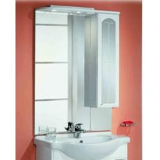 Зеркальный шкаф Акватон Эмилья 75 правый (750х1107мм) белый 1A011202EJ01R