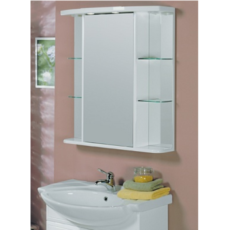 Зеркальный шкаф Акватон Эмили (800х873мм) белый 1A002702EM010