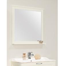 Зеркало Акватон Леон 80 (800х803мм) дуб белый 1A186402LBPS0