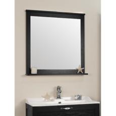 Зеркало Акватон Леон 80 (800х803мм) ясень черный 1A186402LBPT0