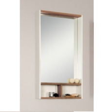 Зеркальный шкаф Акватон ЙОРК 50 (500х850) бежевый/джарра 1A170002YOAT0