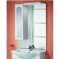 Зеркальный шкаф Акватон Эмилья 75 левый (750х1107мм) белый 1A011202EJ01L
