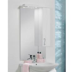 Зеркальный шкаф Акватон Дионис М правый (650х1118мм) белый 1A008002DS01R
