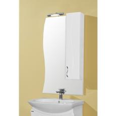 Зеркальный шкаф Акватон Дионис 67 правый (650х1080мм) белый 1A006002DS01R