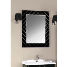 Зеркало Акватон Венеция 75 (738х842мм) черное 1A151102VNL20
