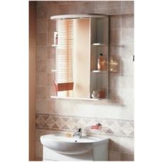 Зеркальный шкаф Акватон Кристалл правый (650х877мм) белый 1A000102KS01R