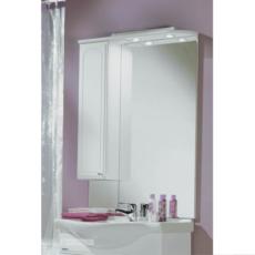 Зеркальный шкаф Акватон Майами 75 левый (750х1107мм) белый 1A047502MM01L