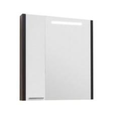Зеркальный шкаф Акватон Брайтон 80 (758х900 мм) венге 1A186102BR500