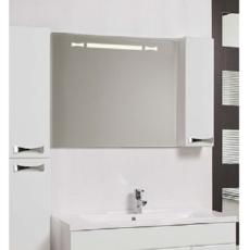 Зеркало Акватон Диор 100 правое (1000х686мм) белое 1A167902DR01R