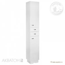 Шкаф-колонна Акватон Аттика (325х2015мм) белая 1A134803AT010