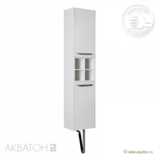 Шкаф-колонна подвесная Акватон Блент (350х1655 мм) белая 1A167403BL010