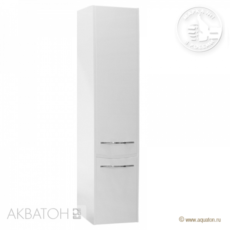 Шкаф-колонна Акватон Инфинити левая (350х1435мм) белая 1A192303IF01L
