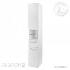 Шкаф-колонна Акватон Сайгон правая (262х1682мм) белая 1A106303SA01R