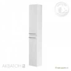 Шкаф-колонна подвесная Акватон Логика (262х1633мм) белая 1A044603LO010