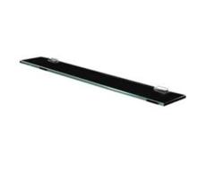 Полка стеклянная Акватон 100 черный глянец 1A121903TU950