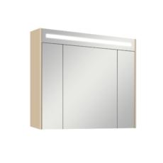 Зеркальный шкаф Акватон Блент 100 (1000х870 мм) кремовый 1A166502BLA70