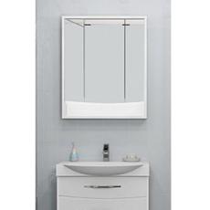 Зеркальный шкаф Акватон Инфинити 76 (760х850мм) белый 1A192102IF010