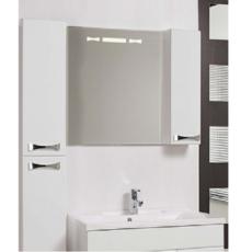 Зеркало Акватон Диор 80 правое (800х686мм) белое 1A168002DR01R