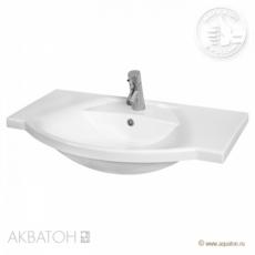 Раковина для мебели Акватон Лацио 85 (850х543мм) белая 1A701831LC010