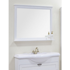 Зеркало Акватон Идель 85 (842х850мм) дуб белый 1A195702IDM70