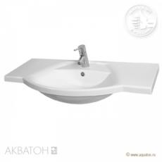 Раковина для мебели Акватон Лацио 95 (950х543мм) белая 1A702031LC010