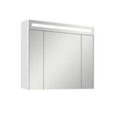 Зеркальный шкаф Акватон Блент 100 (1000х870 мм) белый 1A166502BL010