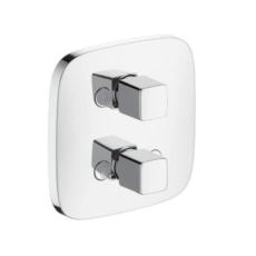 Запорный/переключающий вентиль Hansgrohe PuraVida iControl белый/хром 15777400