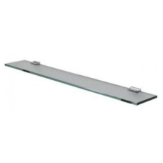Полка стеклянная Акватон 100 серебристая 1A121903TU780